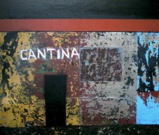 """Cantina No. 2, 2013, oil on linen, 16"""" x 20"""""""